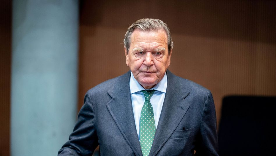 Gerhard Schröder in Berlin (Archiv)