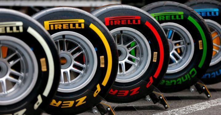 Prestigeträchtig: Pirelli-Reifen für den Motorsport