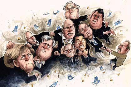 Verteilungskämpfe: Deutschland stehen harte Auseinandersetzungen ums Geld bevor