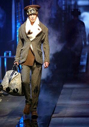 Inspiriert vom großen Kino: Die Kollektion des britischen Designers John Galliano