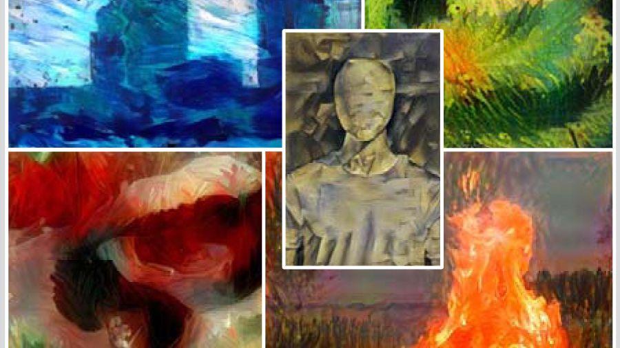 Computergenerierte Kunstwerke