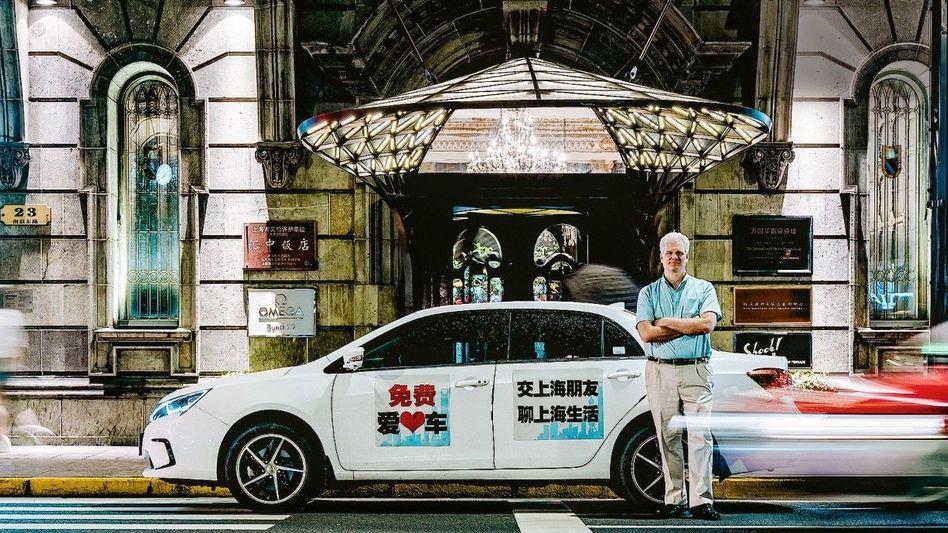 CHAUFFEUR US-Journalist Frank Langfitt lockte Chinesen mit Gratistouren