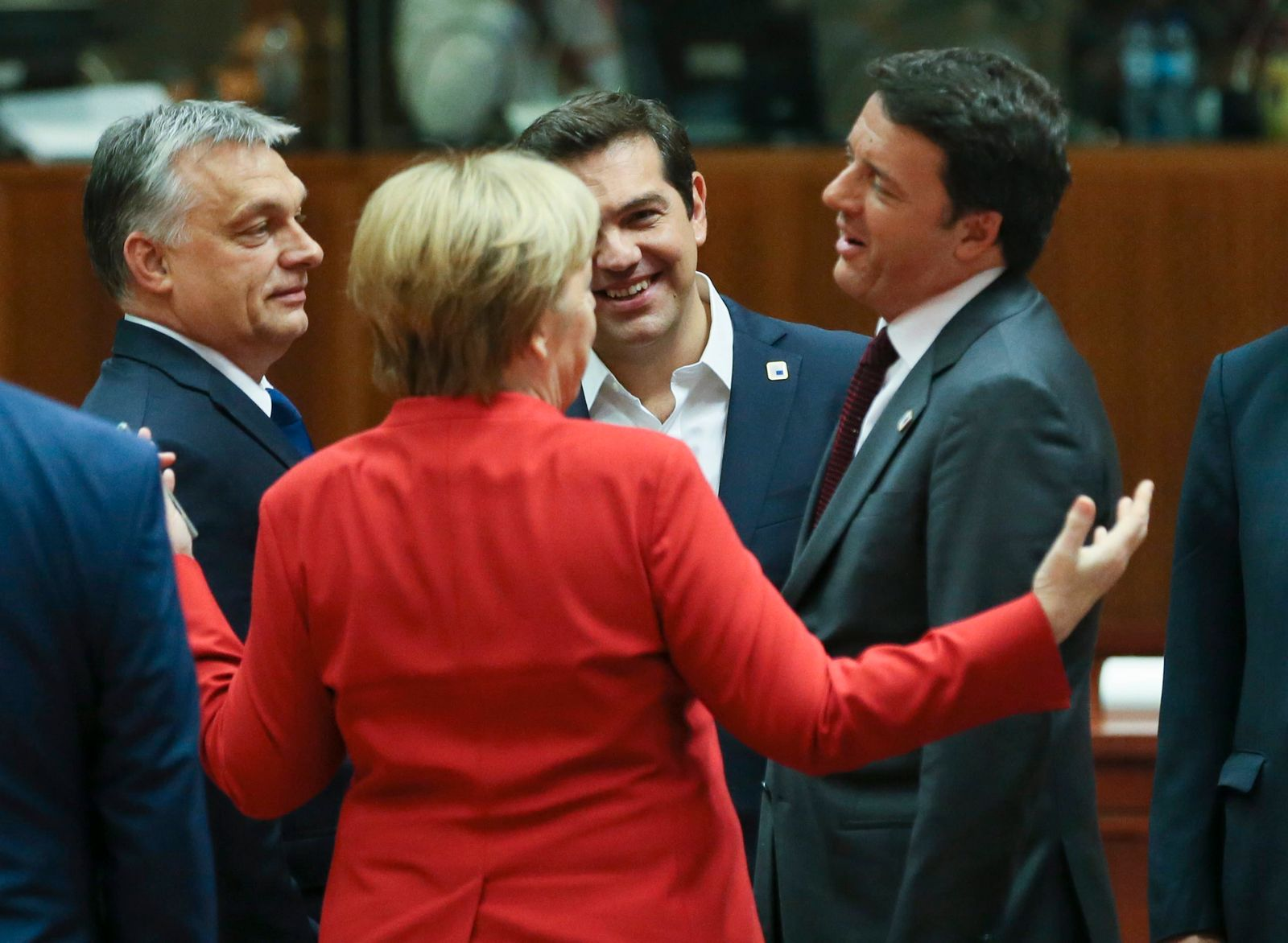 EU Summit / Merkel / Tsipras
