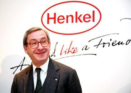 """Aufklärung: Ulrich Lehner, Chef von Henkel, der Nummer zwei des Rankings, will klarmachen, was """"anständiges Unternehmertum"""" bedeutet"""