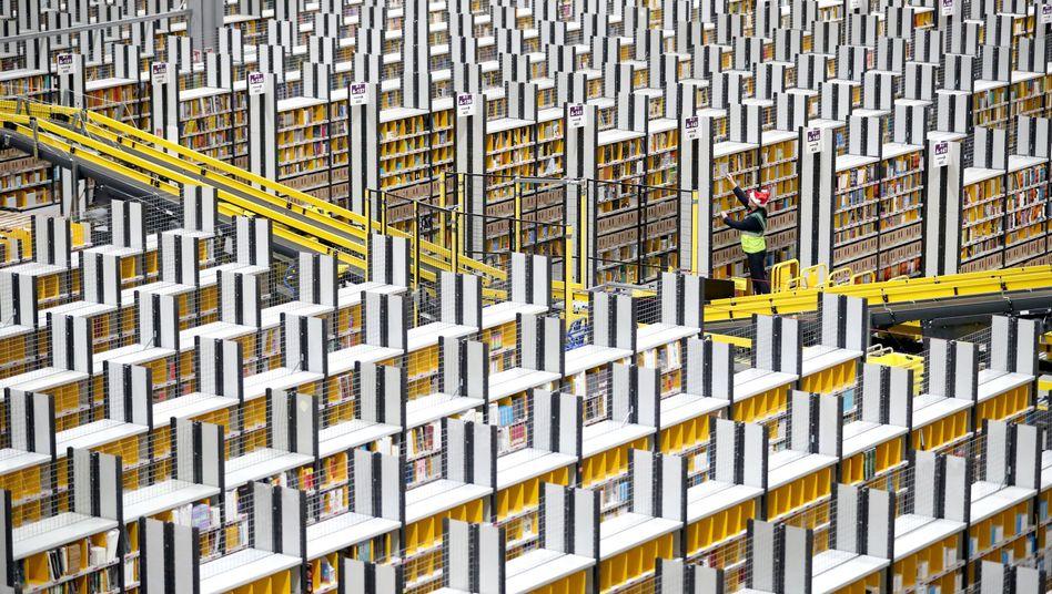 Logistikzentrum von Amazon in Großbritannien: Klotzen, nicht kleckern