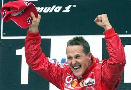 Pole-Position bis 2006: Michael Schumacher