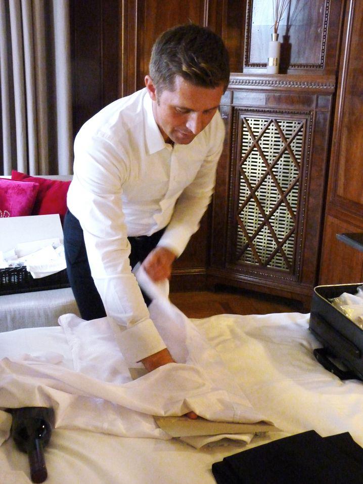 Kleiderpflege: Nur mit gepflegten Sachen lässt sich ein Image von Zuverlässigkeit und Lebensgewandtheit aufbauen