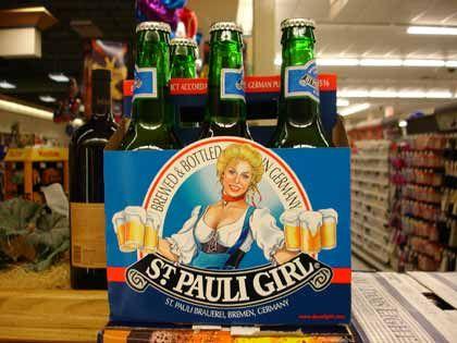 """Trend """"Schrille Sachen"""": St.-Pauli-Girl-Bier"""