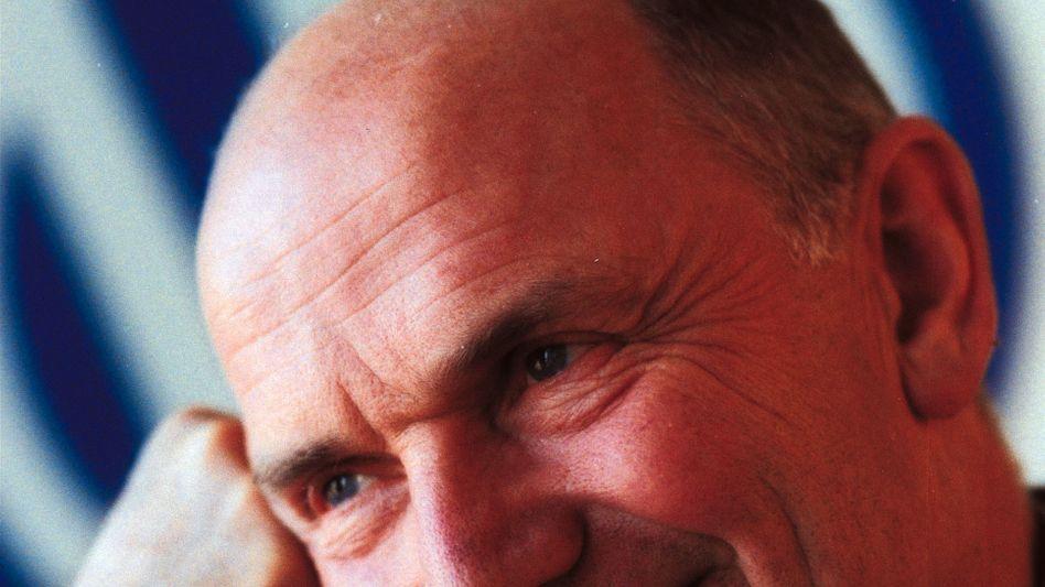 Am Zenit seiner Macht: Der damalige Volkswagen-Konzernchef Ferdinand Piëch im Jahr 2001