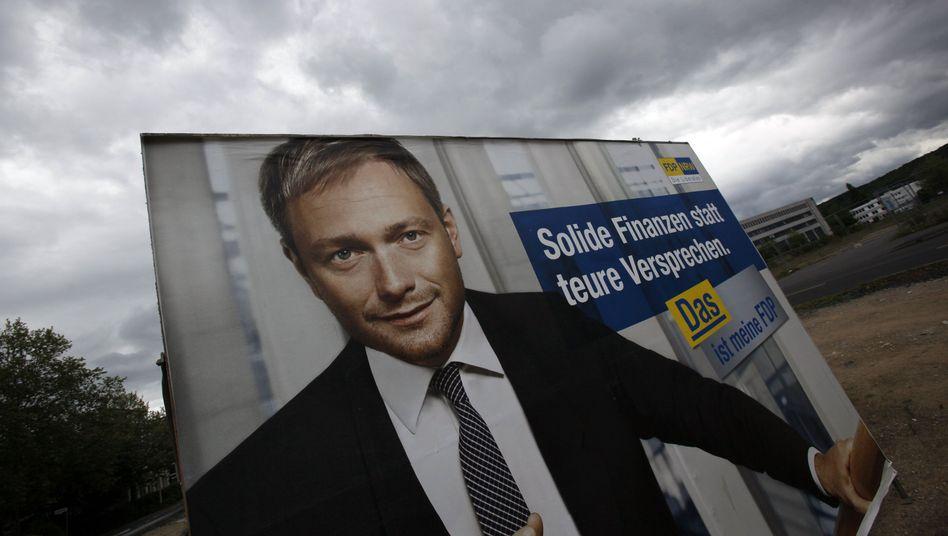 """FDP-Spitzenkandidat Lindner: """"Glaube nicht an die Umfrage"""""""