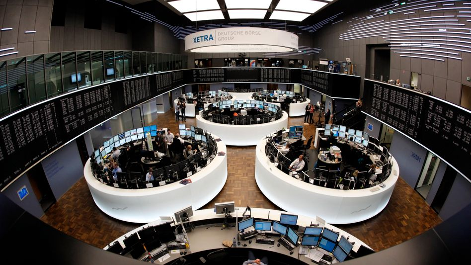 Börse in Frankfurt: Anleger halten sich auch heute zurück