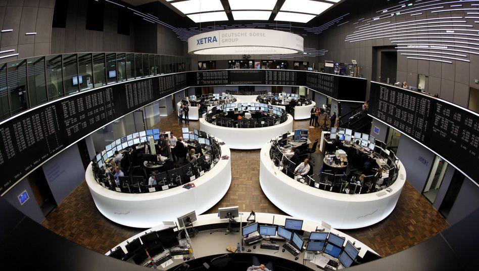Börse in Frankfurt: Nur ein kurzes Durchatmen vor dem Euro-Gipfel