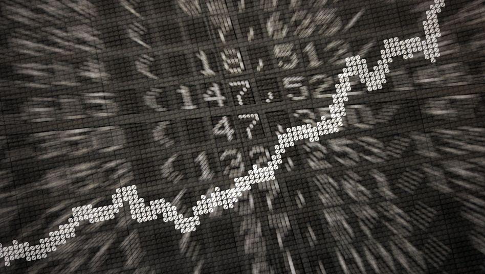 Börse in Frankfurt: Der Dax notiert knapp unter 11.000 Punkten