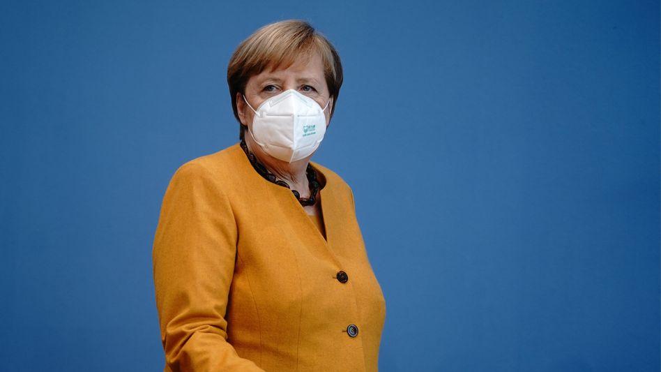 """""""Der vor uns liegende Winter wird uns allen noch viel abverlangen"""": Bundeskanzlerin Angela Merkel (hier am 02. November 2020 in Berlin)"""