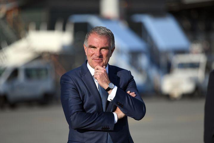 Schicksalstag für Lufthansa-Chef Carsten Spohr: Werden die Aktionäre auf der außerordentlichen Hauptversammlung dem staatlichen Rettungspaket zustimmen?