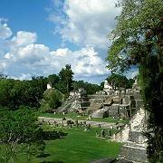 Lohn des Schweißes: Wer sich in Tikal die Treppen hochplagt, wird für seine Mühen mit einem großartigen Ausblick belohnt