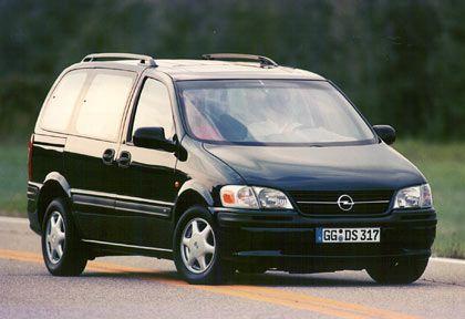 Symbol für das GM-Versagen: Der Sintra von 1996 war eine US-Konstruktion mit Opel-Blitz auf dem Grill - aber Qualität, Design und Crashtests ein Desaster