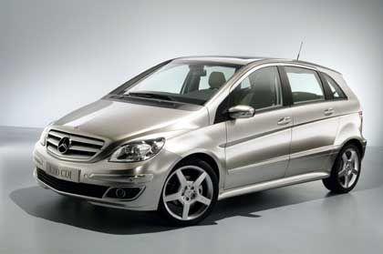 B-Klasse CDI: Neues Tourer-Modell von Mercedes