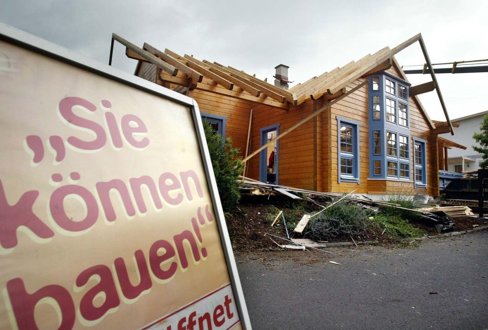 Wohnen in Deutschland / Eigenheim