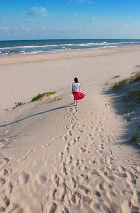 Strände, so weit das Auge reicht: Die Outer Banks ziehen sich auf 80 Meilen in die Länge-