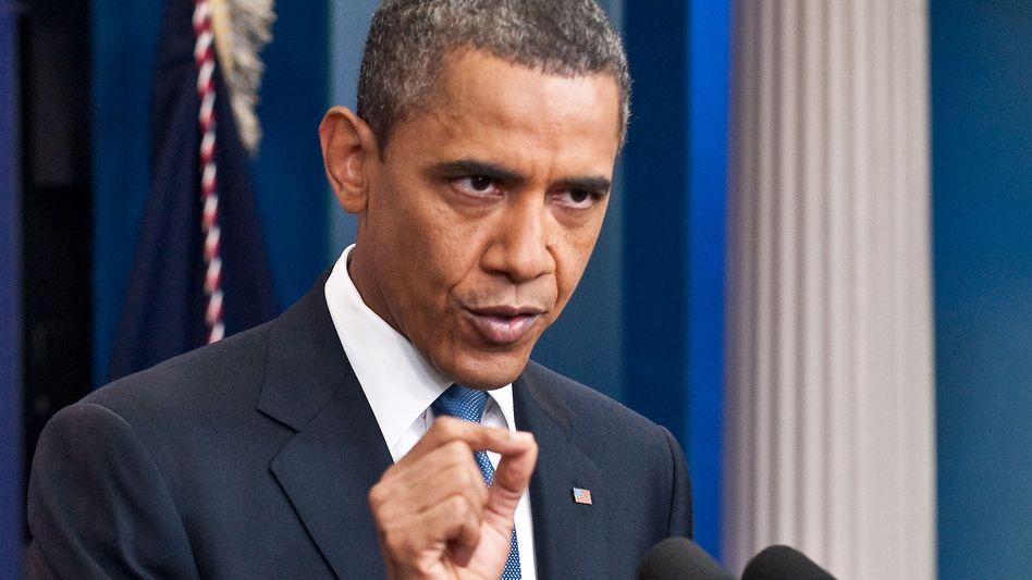 US-Präsident Barack Obama: Ein Ultimatum soll nun Bewegung in die festgefahrenen Fronten bringen
