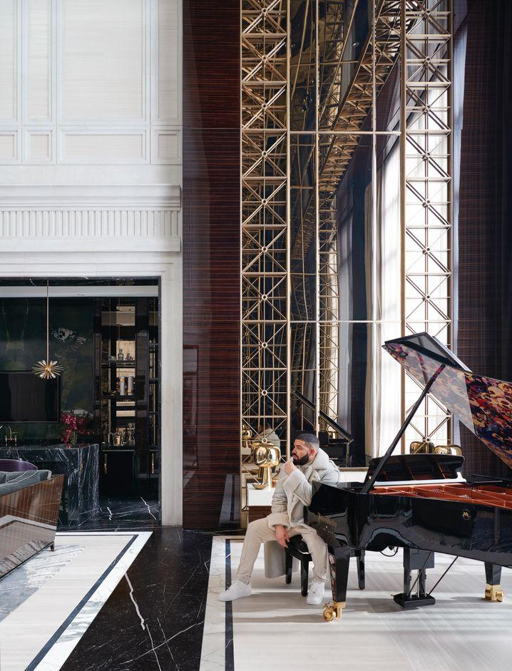 Sound und Status: Die teuren Bösendorfer-Konzertflügel sind wieder begehrt, nicht nur bei Klaviervirtuosen, auch bei Stars wie US-Rapper Drake