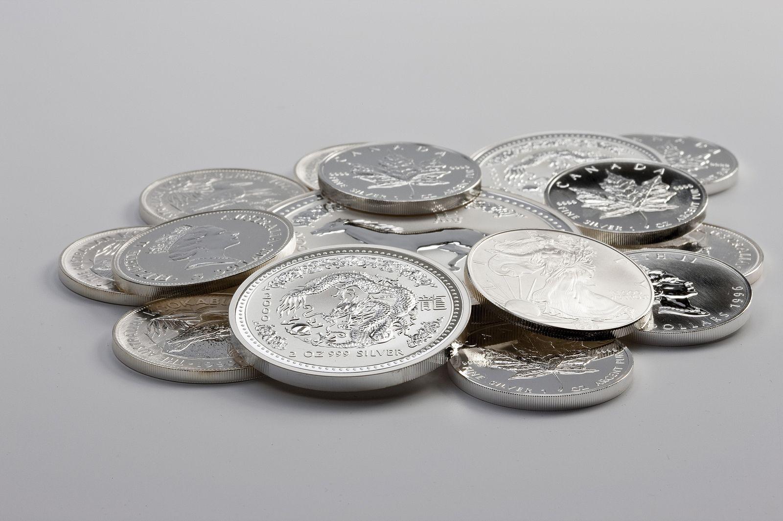 Silber / Silbermünzen / Münzen