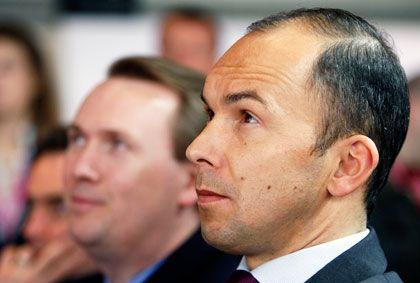 Akhavan-Vertrauter Schläffer: Kreisen zufolge stimmte die Chemie zwischen ihm und Telekom-Chef Obermann schon seit Längerem nicht mehr
