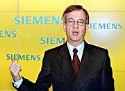 Hat ehrgeizige Ziele: Heinrich von Pierer