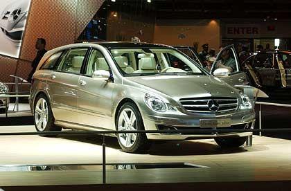 Die S-Klasse ist nur ein Zwerg: Mercedes Grand Sports Tourer Vision R