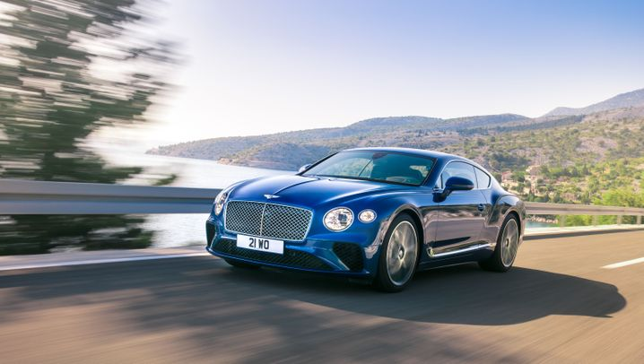 Bentley Continental GT: Grand Tourer für grandiose Touren