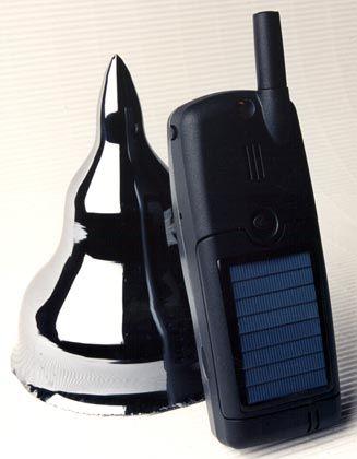 Für die Sonne kreiert: Solarhandy des Fraunhofer Instituts