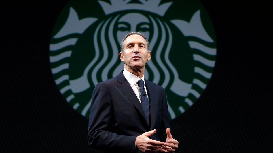 In den Fußstapfen von Jeff Bezos: Starbucks-CEO Howard Schultz