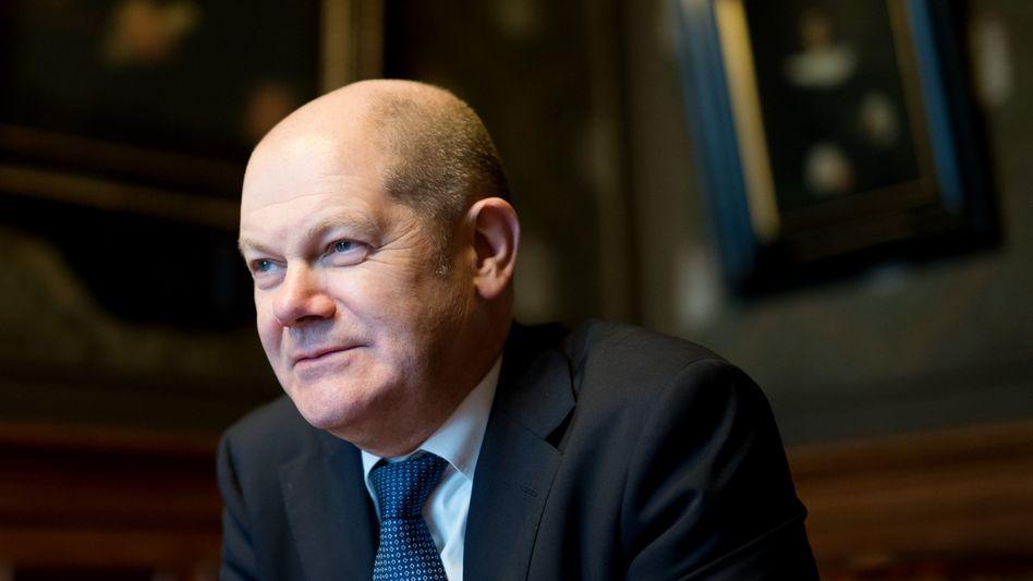 Hamburgs SPD-Bürgermeister Scholz