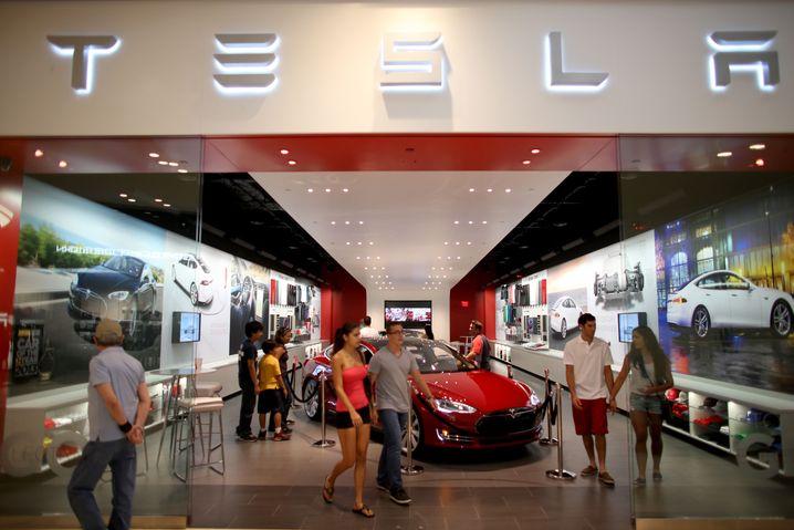 Tesla-Store (in Miami): Lange Wartezeit in Deutschland