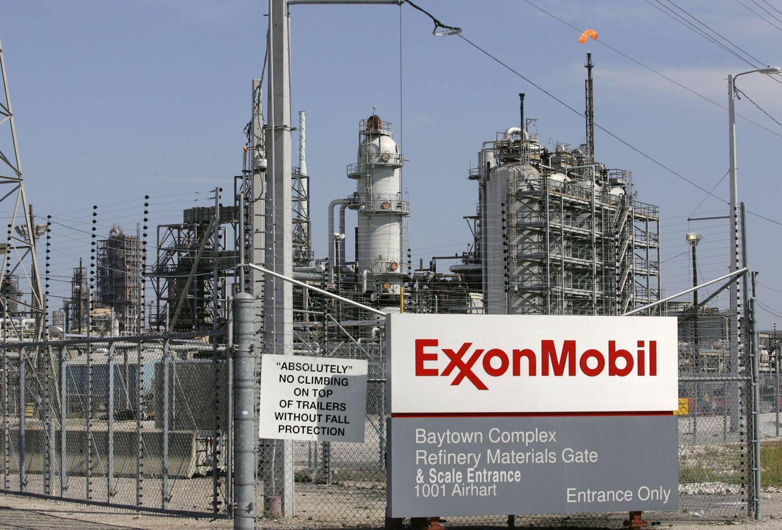 Exxon Mobil Texas
