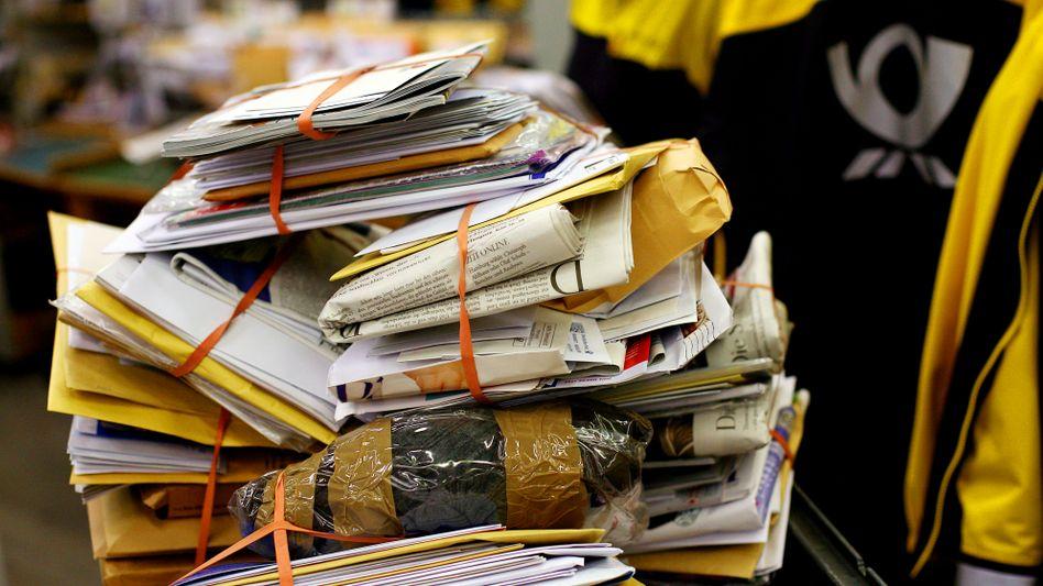Briefverteilzentrum der Deutschen Post: Künftig keine Billigbriefe mehr