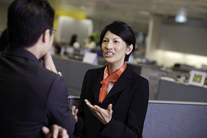 Verantwortlich für die VIPs in Hongkong: Linda Chew betreut Kunden mit zweistelligen Millionenvermögen