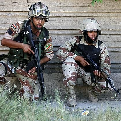 Keine Freiheitssymbole mehr: US-Soldaten im Irak