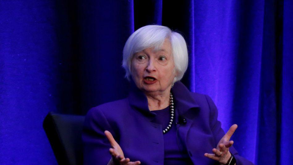 Janet Yellen: Die ehemalige US-Notenbank-Chefin soll das Finanzministerium unter Präsident Joe Biden führen