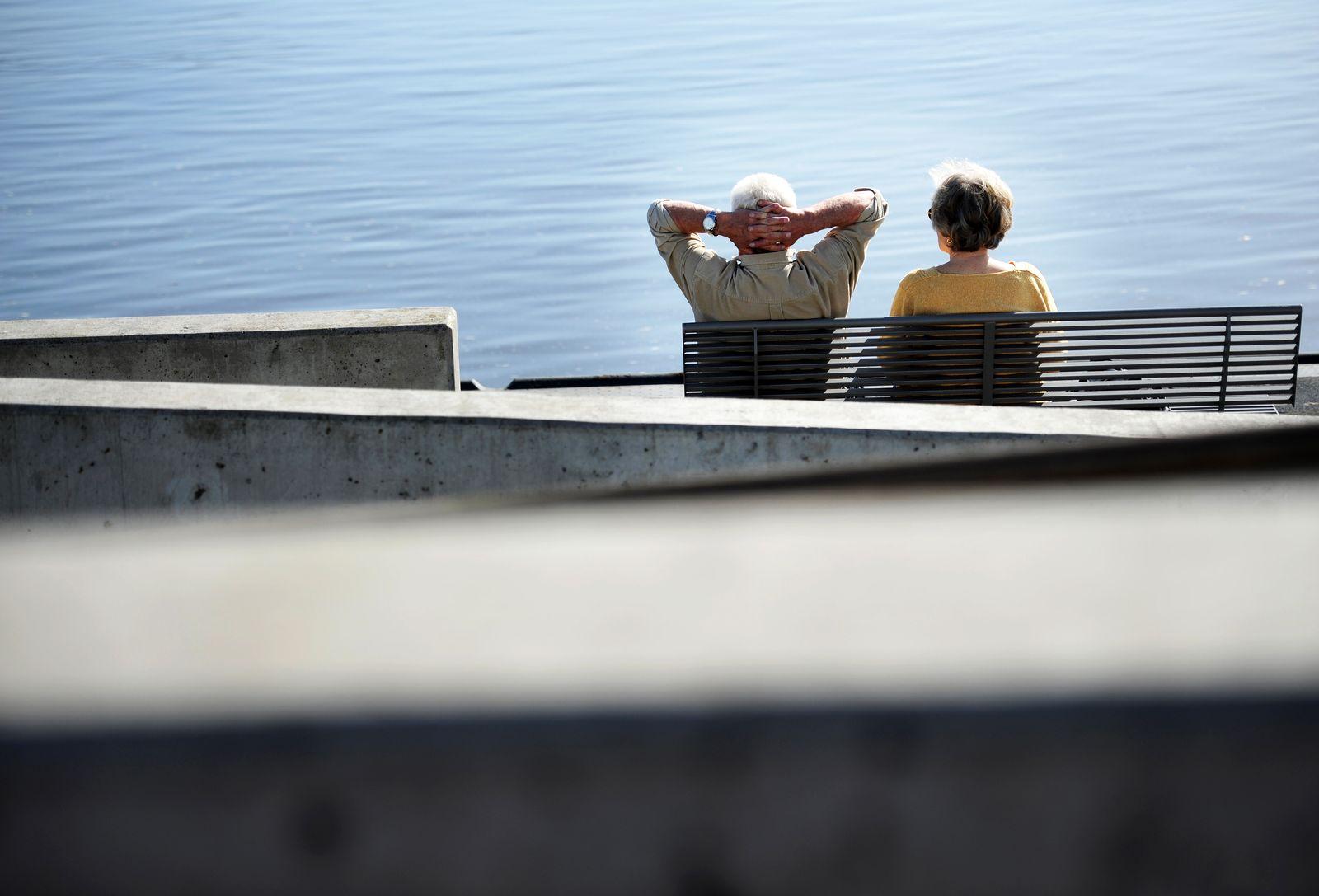 Lebensversicherung / Rentner / Rente / Frührente