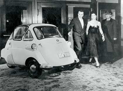 1955: BMW Isetta - traute Zweisamkeit