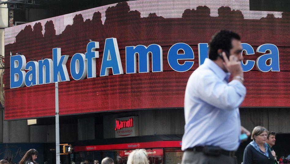 Bank-of-America-Zentrale in New York: Moody's senkt den Daumen