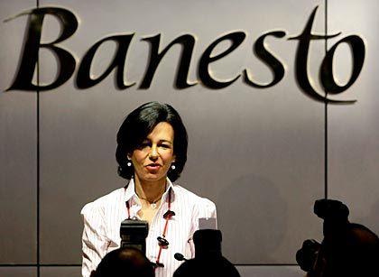 Ernste Power-Frau: Ana Patricia Botín leitet die spanische Großbank Banesto