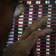 Börse in Shanghai: Die Indizes in China haben seit März rund 50 Prozent zugelegt. Nun bringen Anleger Teile ihrer Gewinne in Sicherheit