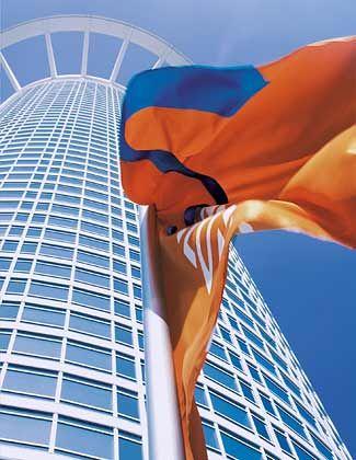 Mit fliegenden Fahnen: Insider befürchten, die DZ Bank könnte den Rettungsfonds der Bundesregierung in Anspruch nehmen müssen