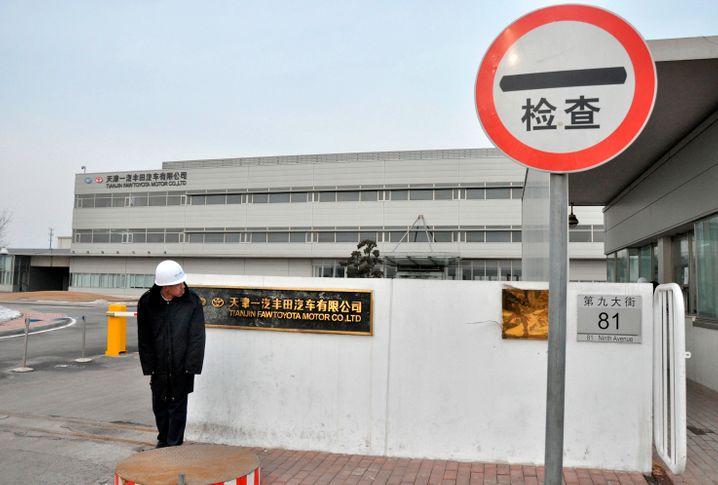 Toyota-Werk in China: Der japanische Autobauer stoppt die Produktion