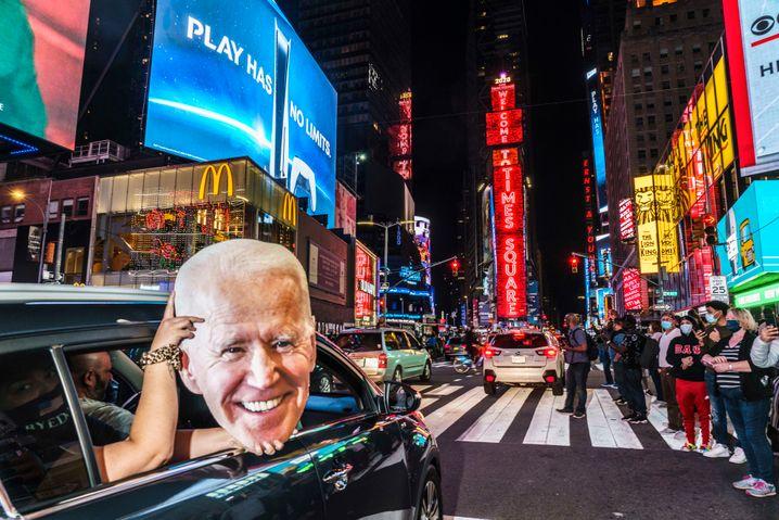 Hoffnung auf Comeback: Der kommende Präsident Joe Biden muss die US-Wirtschaft vor einem Crash bewahren