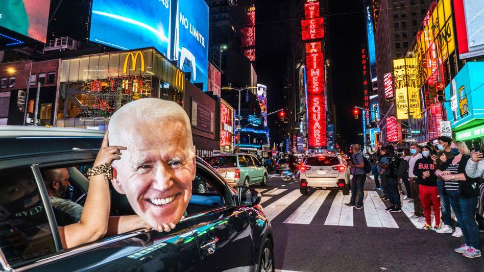 Hoffnung auf Comeback: US-Präsident Joe Biden muss die US-Wirtschaft vor einem Crash bewahren
