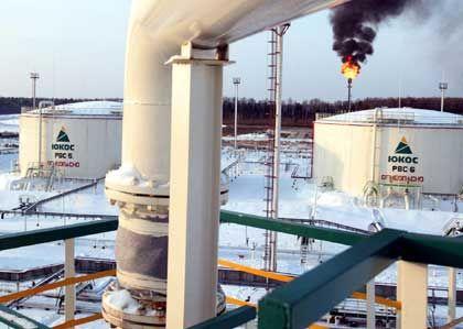 Exportschlager: Ölförderung im westsibirischen Chanty-Mansiysk